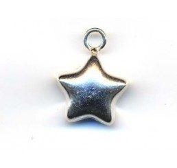 pendente  stella mm 15 - ag 925 - conf 1 pz