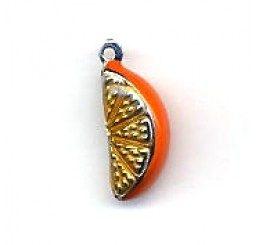 pendente a spicchio di arancio - conf 1 pz