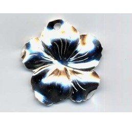 pendente fiore - ag dorato - conf 1 pz