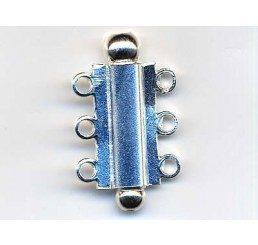 chiusura multifili  mm 25 - argento 925 - conf. 1 pz.